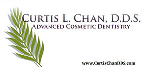 Curtis L. Chan, D.D.S. Advanced Cosmetic Dentistry Logo