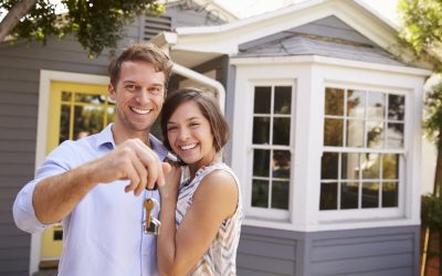 Young Couple Buying a New Home