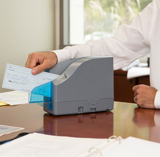 Bank of Southern California's Free Remote Deposit Capture Scanner