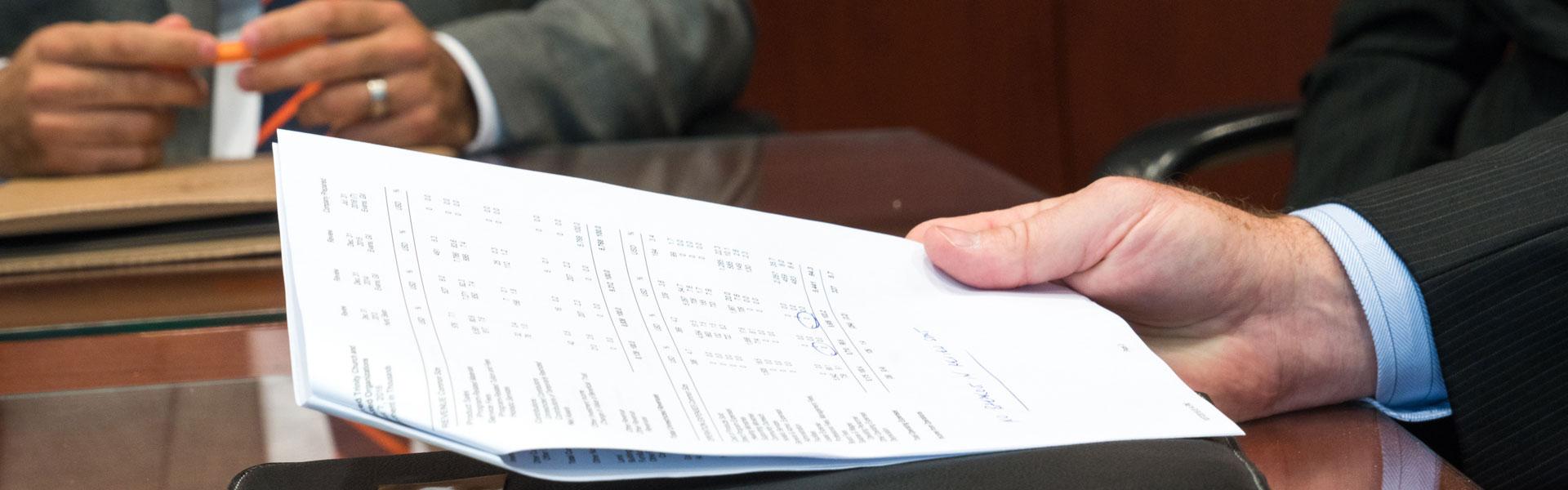 An SBA Loan Application