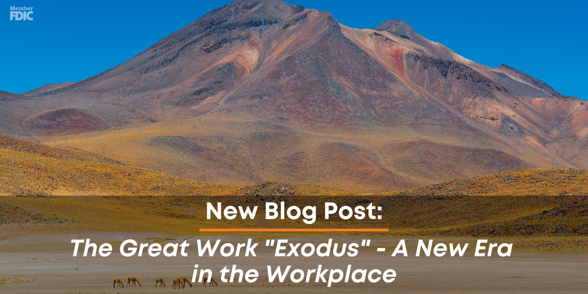 The Great Work Exodus - A New Era in the Workplace