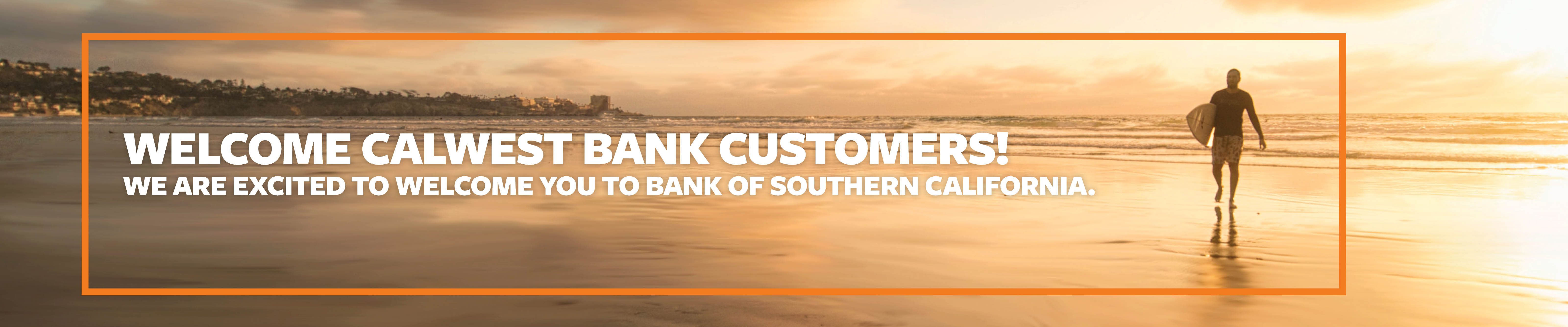 Welcome to Bank of Southern California